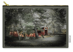 Carry-all Pouch featuring the photograph Country Crossing by Marvin Spates