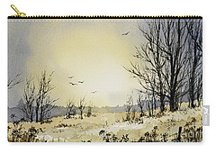 Carry-all Pouch featuring the painting Country Dawn by James Williamson