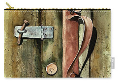 Country Door Lock Carry-all Pouch