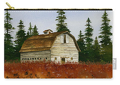Carry-all Pouch featuring the painting Country Landscape by James Williamson
