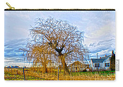 Carry-all Pouch featuring the photograph Country Life Artististic Rendering by Clayton Bruster