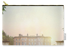Country Mansion At Sunset Carry-all Pouch by Lee Avison