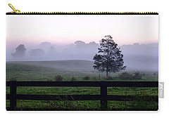 Country Morning Fog Carry-all Pouch