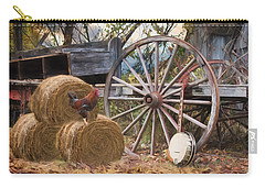 Carry-all Pouch featuring the photograph Country Music II by Robin-lee Vieira