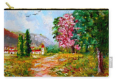 Country Pathway In Greece Carry-all Pouch
