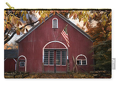 Carry-all Pouch featuring the photograph Country Patriot by Robin-Lee Vieira