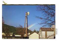 Country Rainbow Carry-all Pouch by Mary Ellen Frazee