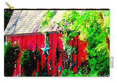 Country Red Barn Star Carry-all Pouch