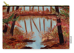 Country Reflections Carry-all Pouch by Leslie Allen