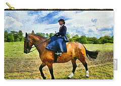 Carry-all Pouch featuring the photograph Country Ride by Scott Carruthers