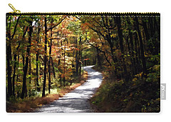 Carry-all Pouch featuring the photograph Country Road by David Dehner