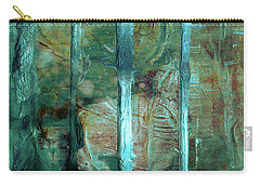 Country Roads - Abstract Landscape Painting Carry-all Pouch