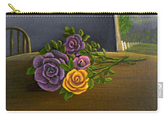Country Roses Carry-all Pouch
