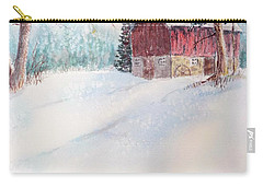 Country Snowscape Carry-all Pouch