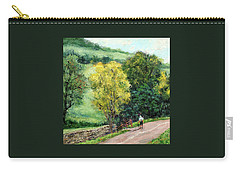 Country Stroll Carry-all Pouch by Jill Musser