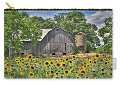 Country Sunflowers Carry-all Pouch by Lori Deiter
