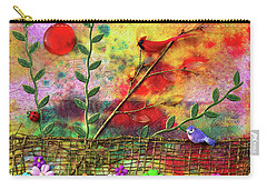 Country Sunrise Carry-all Pouch by Donna Blackhall