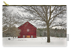 Carry-all Pouch featuring the digital art Country Vermont by Sharon Batdorf