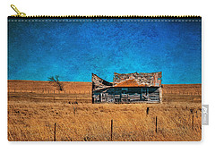 Countryside Abandoned House Carry-all Pouch
