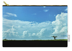 Carry-all Pouch featuring the photograph Countryside by Andrea Anderegg