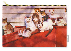 Countryside Cats Carry-all Pouch