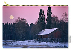 Countryside Full Moon Scenery Carry-all Pouch