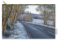 Countryside Road In Central Scotland Carry-all Pouch