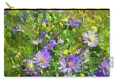 County Wild Flowers Carry-all Pouch