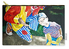 Couple Of Clowns Carry-all Pouch