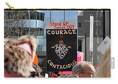 Courage Is Contagious Carry-all Pouch