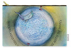 Courage To Lose Sight Of The Shore Orb Mini World Carry-all Pouch