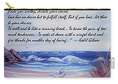 Course Of Love Carry-all Pouch by Denise Fulmer