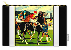 Courses De Chalon French Horse Racing 1911 II Carry-all Pouch