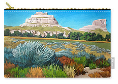 Courthouse And Jail Rocks 2 Carry-all Pouch