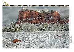 Courthouse In Winter Carry-all Pouch
