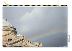 Courthouse Rainbow Carry-all Pouch