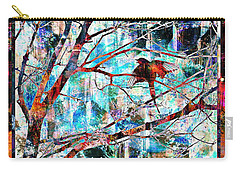 Courting Bird Carry-all Pouch