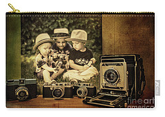 Cousins And Cameras Carry-all Pouch