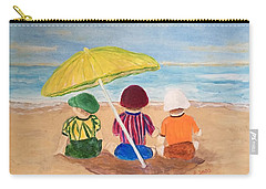 Cousins At The Beach Carry-all Pouch