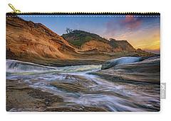 Cove At Cape Kiwanda, Oregon Carry-all Pouch by Rick Berk