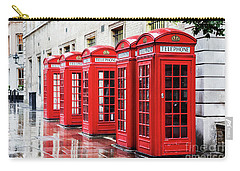 Covent Garden Phone Boxes Carry-all Pouch