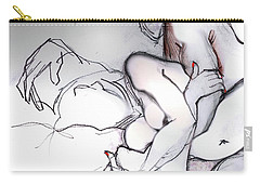 Embrace - Nude Couple Carry-all Pouch