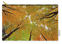 Carry-all Pouch featuring the photograph Cover Up by Tony Beck