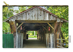 Covered Bridge Hdr Carry-all Pouch