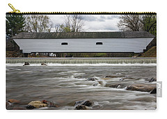 Covered Bridge In March Carry-all Pouch