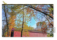 Covered Bridge In Maryland In Autumn Carry-all Pouch