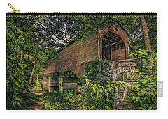 Covered Bridge Carry-all Pouch by Lewis Mann
