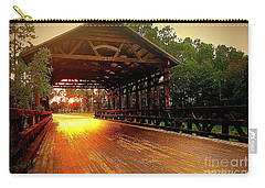 Covered Bridge Carry-all Pouch by Shelia Kempf