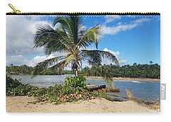 Covered Palm Beach Carry-all Pouch
