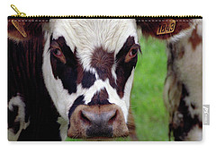 Cow Closeup Carry-all Pouch